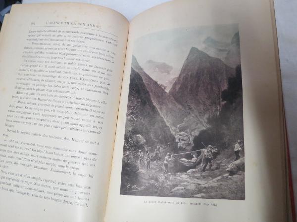 VERNE jules. L'AGENCE THOMSON and Co. 1907, Livres rares (1ère édition, livres illustrés, tirages limités), Livres | Puces Privées